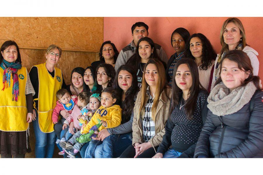 Emprende Mamá: Acompañamiento a la embarazada adolescente