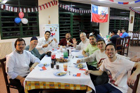 Posnoviciado Internacional: Un 18 que traspasó las fronteras