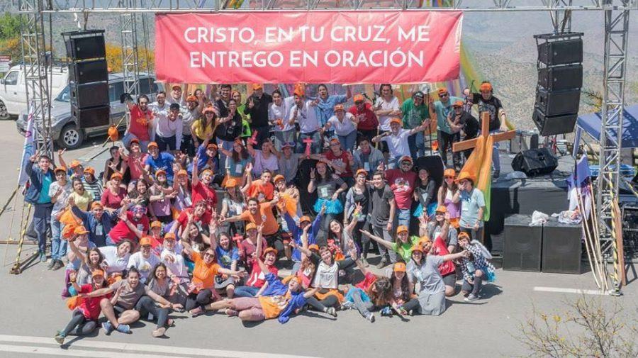 90 voluntarios del MJS colaboraron en la peregrinación a Los Andes