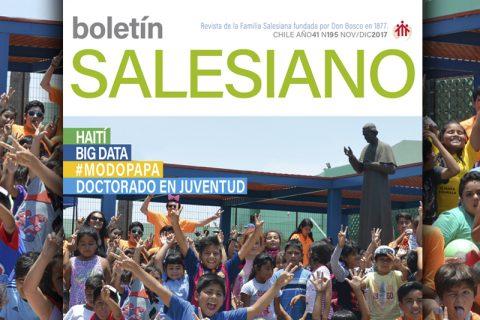 Ya esta en circulación la última edición del año Boletín Salesiano