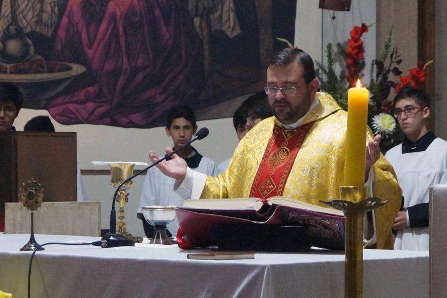 Comunidad de Concepción celebra al P. Carlo Lira