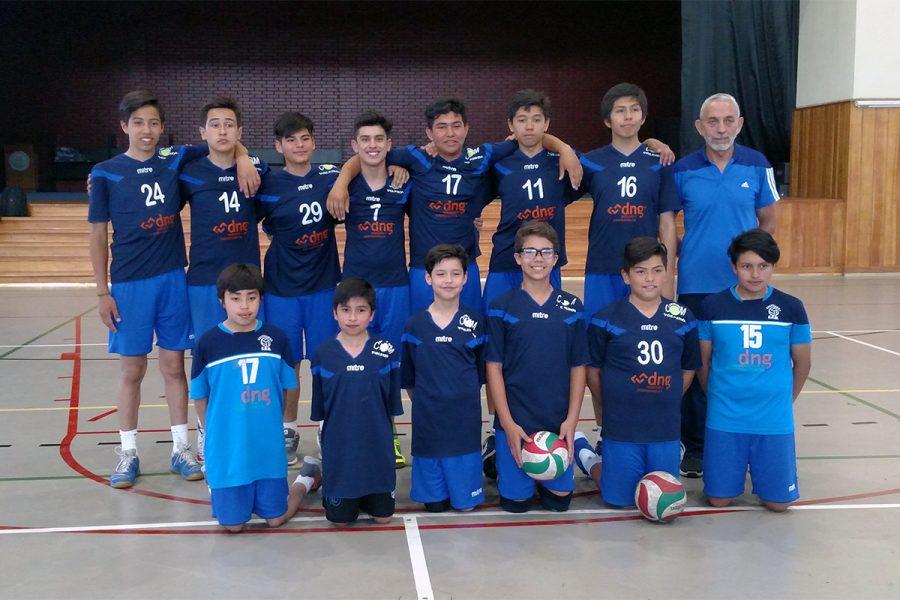 Campeones indiscutidos en Vóleibol escolar