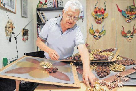 Ex alumno salesiano decorará altar de la misa que Francisco celebrará en Iquique