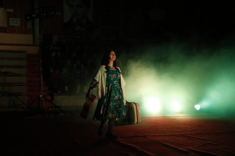 """""""Violeta al Viento"""" en Punta Arenas"""