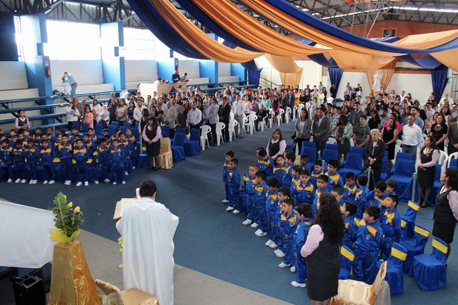 Ceremonia Betania 2017  en el colegio salesiano Don Bosco Iquique