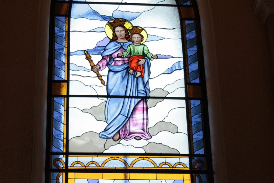 Nuevos vitrales para el templo Gratitud Nacional
