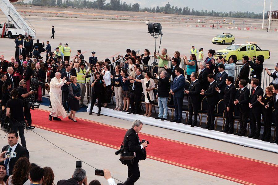 [VIDEO] Bienvenido Papa Francisco. Te esperábamos!