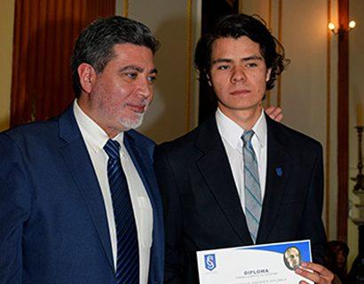 Alumno salesiano de Macul logra puntaje nacional de Matemática