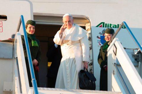 El Papa comenzó su Viaje Apostólico a Chile