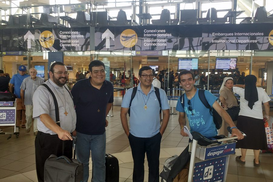 Jóvenes Salesianos al Noviciado de Argentina