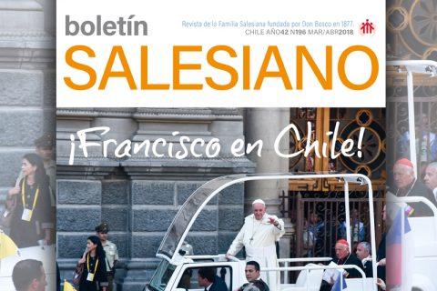 Ya en circulación, primera edición del 2018 Boletín Salesiano