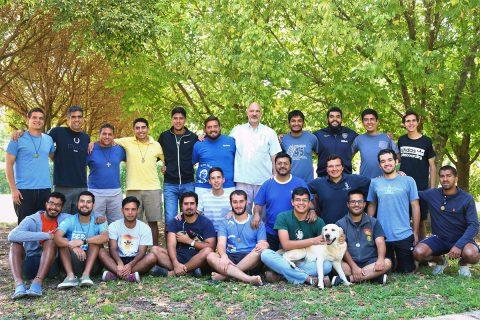 Integrantes 2018 de la comunidad del Posnoviciado Internacional de Córdoba