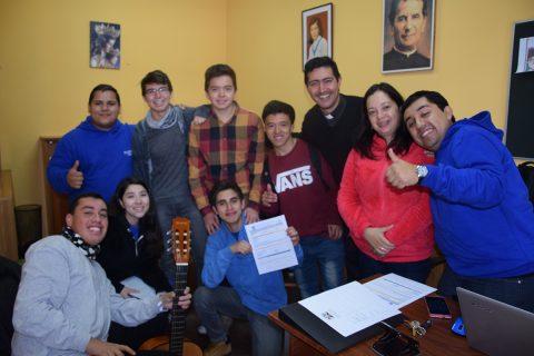 """Oratorio """"Club de la Alegría"""" en Talca"""