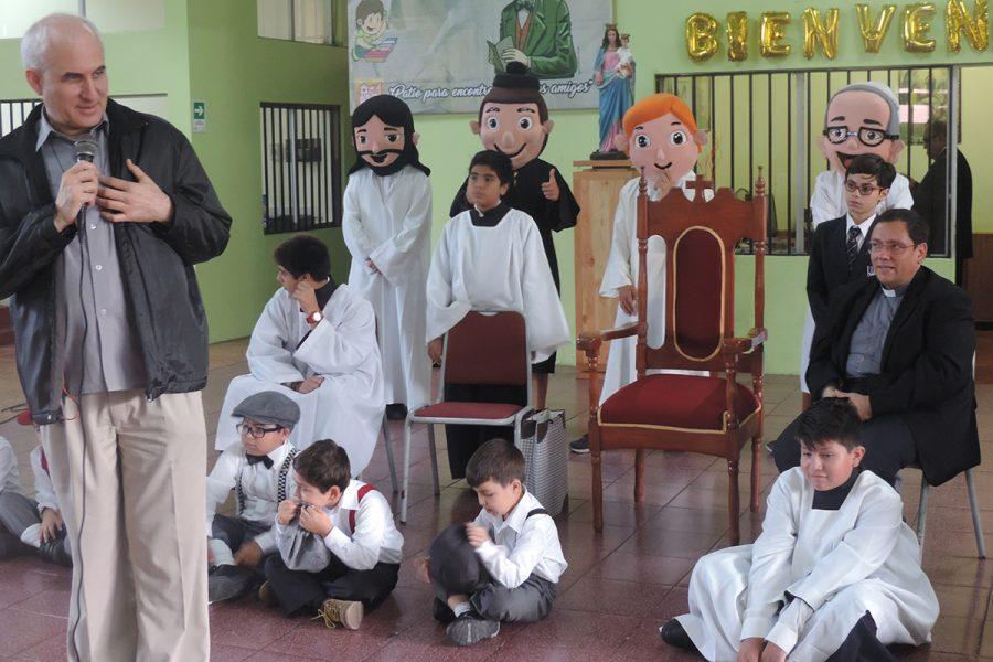 Llamado a la santidad del P. Basañes a la zona Salesiana de Tarapacá