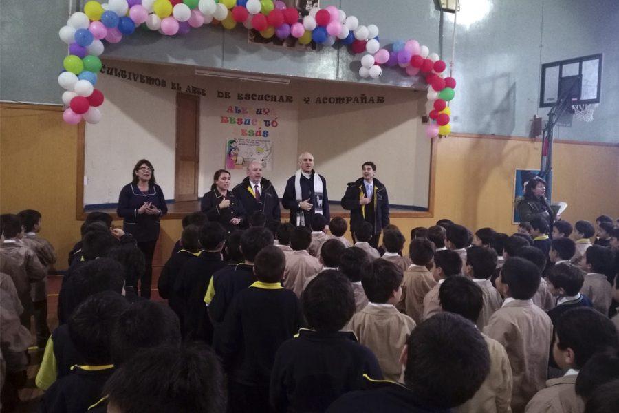 Visita del P. Basañes a la Obra Salesiana de Valdivia