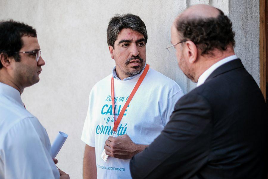"""Jóvenes de FDB con Ministro Moreno: """"La Fundación es la familia que nunca tuvimos"""""""
