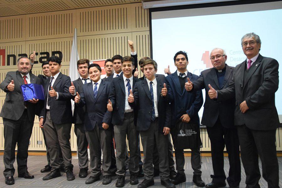 Salesianos Talca 1° Lugar en Compromiso con la Calidad Educativa
