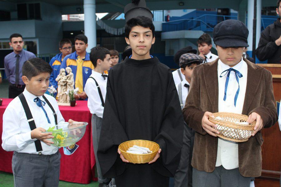 Don Bosco de Iquique celebra a Santo Domingo Savio