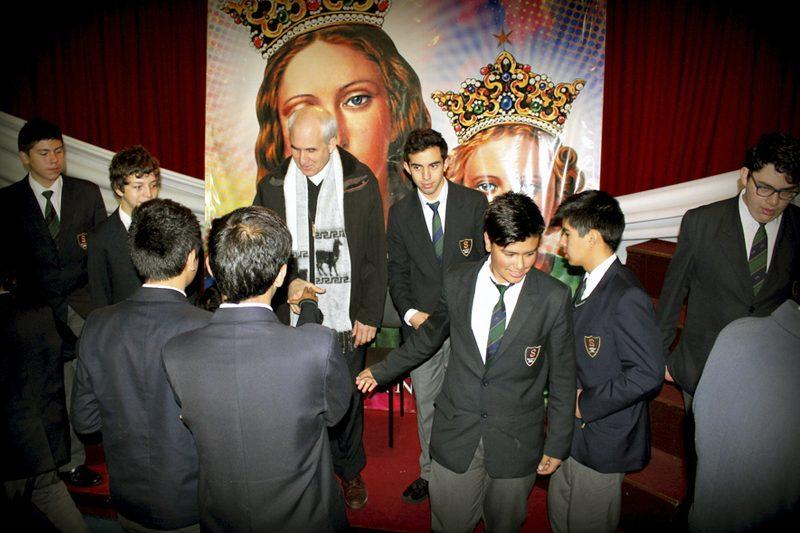 P. Basañes visita Obra de Concepción