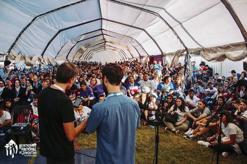 Jóvenes chilenos renuevan su fe en encuentro de Argentina
