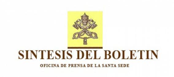 Comunicado de Santa Sede por encuentros Papa Francisco y Obispos chilenos
