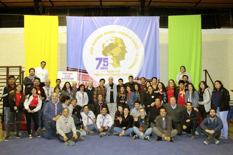 Visita P. Basañes Obra Zona Sur Santiago