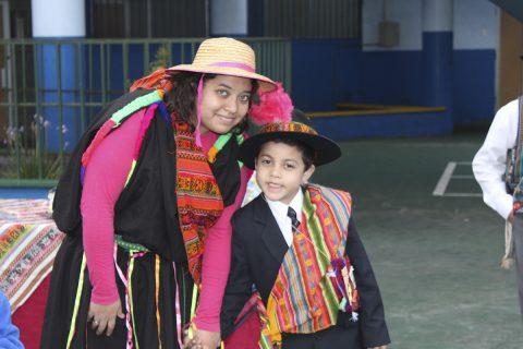 Colegio Salesiano de Iquique celebra año nuevo indígena