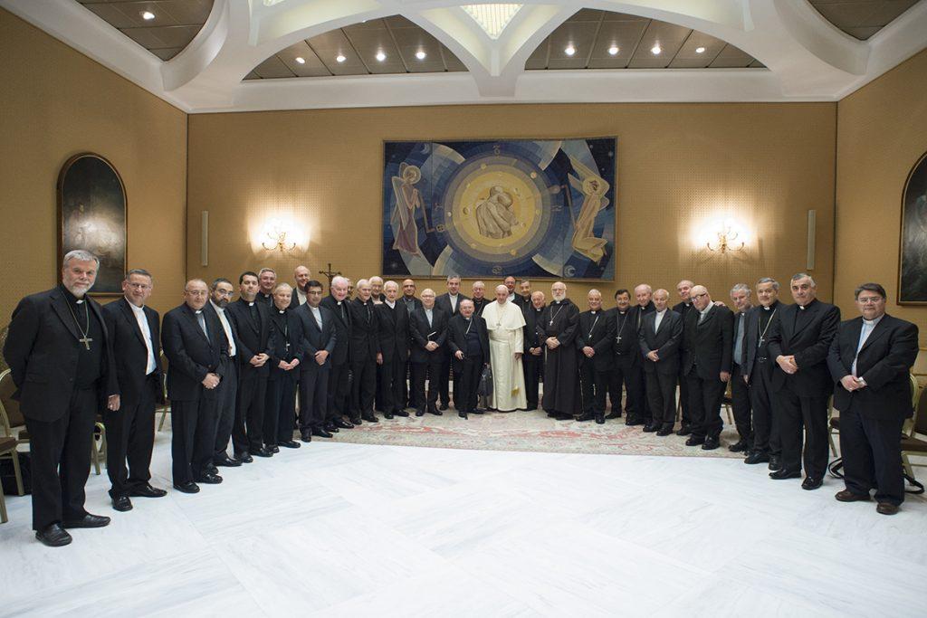 3.- Reunión jueves 17 mayo (FOTO - Vaticanmedia)
