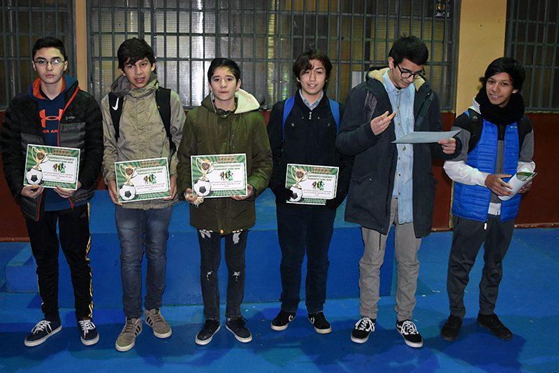 Campeonato futsal Liceo Salesiano de Puerto Natales