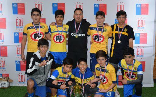 Alumnos del ISV ganan Campeonato Regional FUTSAL
