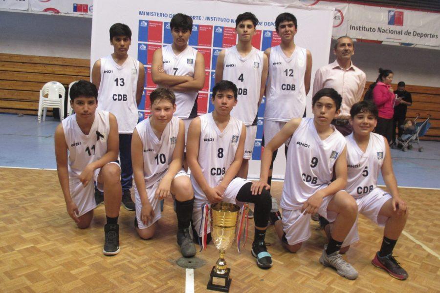 Colegio Don Bosco Iquique, campeón regional de básquetbol