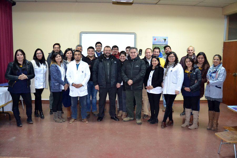 Inspector P. Carlo Lira visita comunidad de Catemu