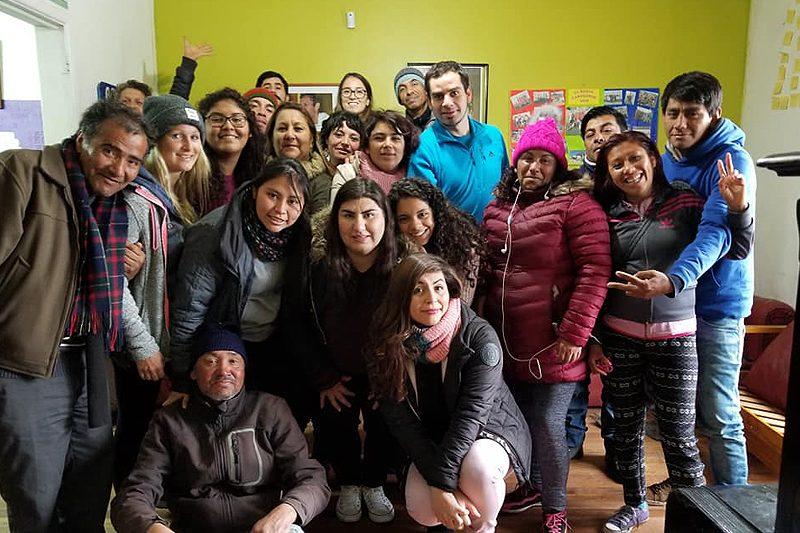 Voluntarias extranjeras en Fundación Don Bosco