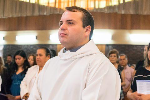 Diácono Osvaldo Valenzuela será ordenado sacerdote