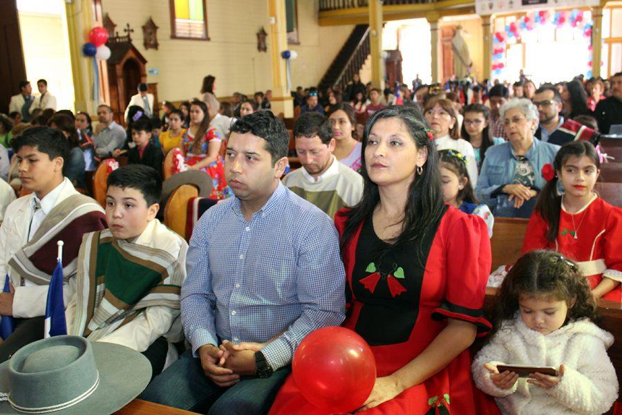 Misa a la chilena en Colegio Don Bosco Iquique