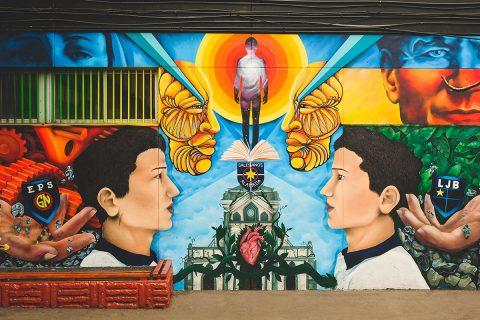 Murales Colegios Salesianos
