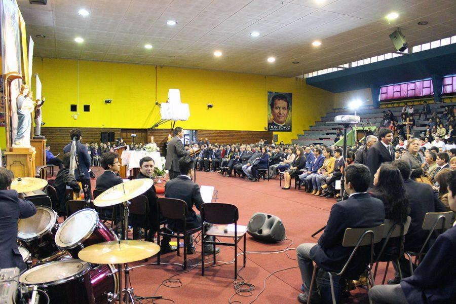 Despedida alumnos IV medios Colegio salesiano de Concepción