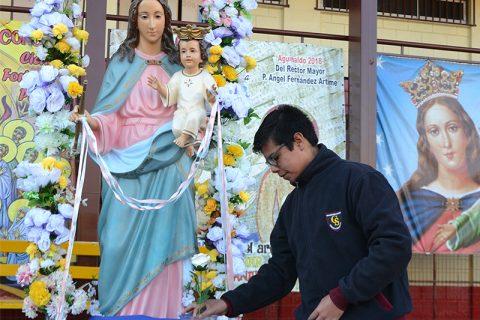 Celebrar a María como pilar de fe juvenil