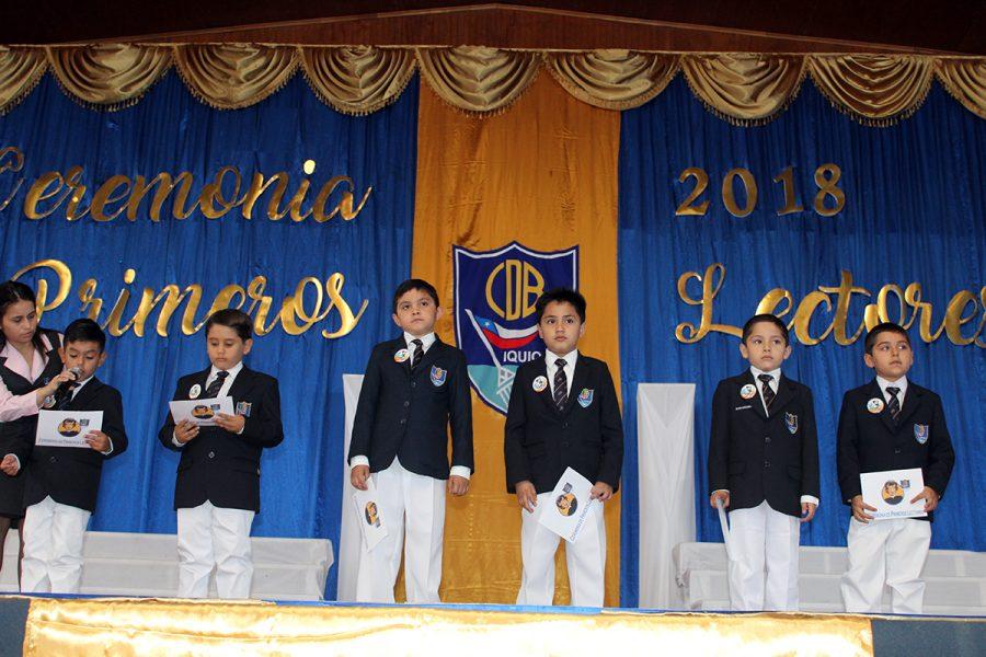 Ceremonia Primeros Lectores en Iquique