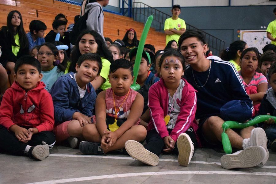 Más de 200 niños en Colonias Villa Feliz de Talca