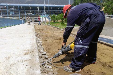 Obras de mejoramiento y mantención en Antofagasta