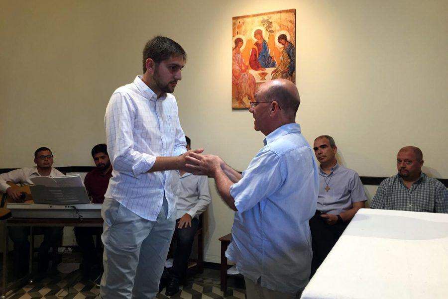 Joven salesiano ingresó al Noviciado de Argentina