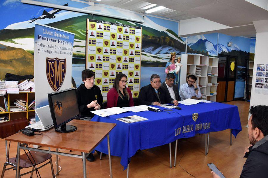 Lanzamiento actividades centenario Liceo Monseñor Fagnano