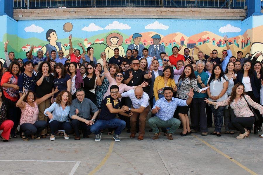 Santidad: Foco del retiro comunidad educativo pastoral Antofagasta