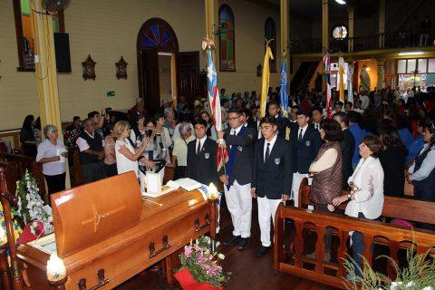 Comunidad de Iquique despide al P. Quintín García