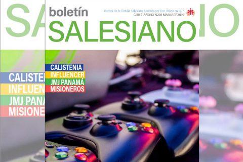 ¡Ya en circulación primera edición del Boletín Salesiano 2019!