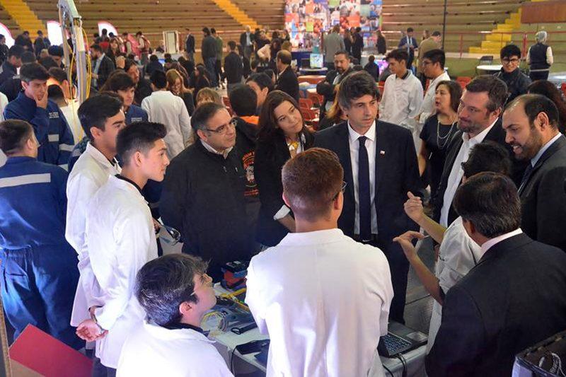 Corporación de Fomento de la Producción celebró sus 80 años en Salesianos Alameda