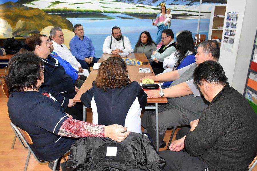 P. Carlo visitó obra salesiana de Puerto Natales