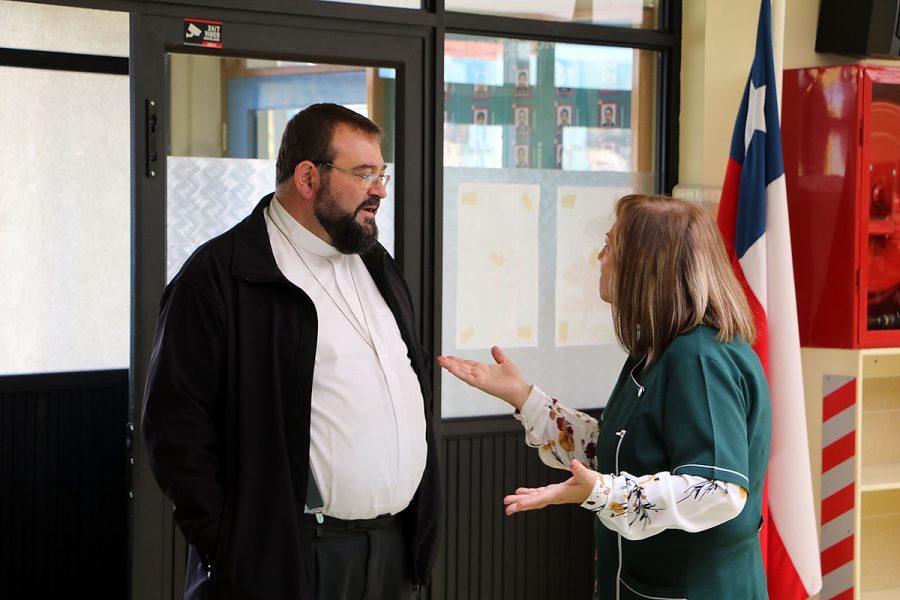 P. Carlo Lira visitó Instituto Don Bosco de Punta Arenas