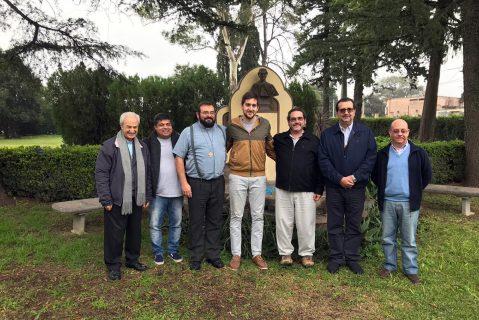 P. Carlo Lira visitó noviciado en Argentina